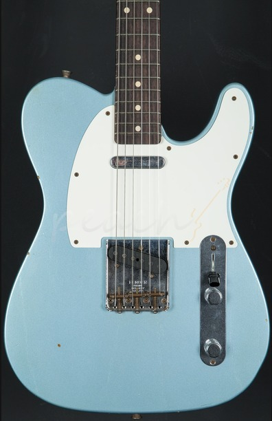 Fender Custom Shop '59 Tele Journeyman Ice Blue Metallic