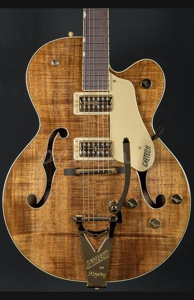 Gretsch G6120T-KOA-LTD15 Nashville Rosewood Fingerboard Flame Koa