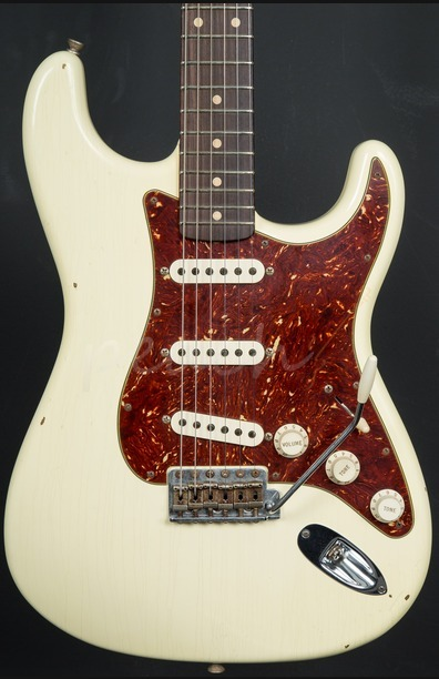Fender Custom Shop Journeyman Relic 60 Strat Vintage White