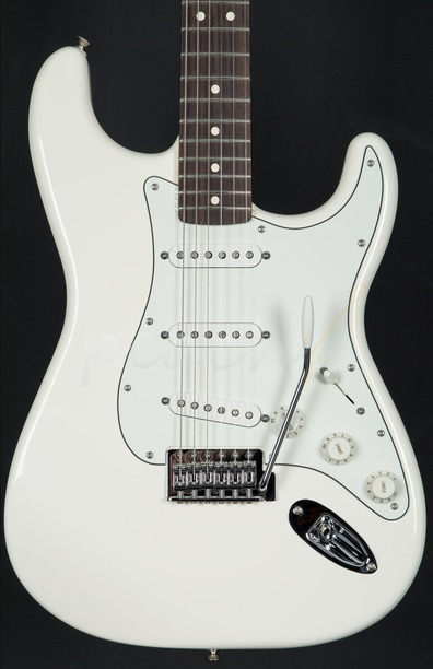 Fender Mexican Standard Strat Arctic White Rosewood