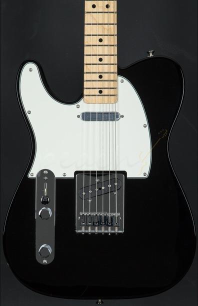 Fender Mexican Standard Tele Left Handed Black Maple