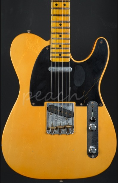 Fender Custom Shop 20th Anniversary Relic Nocaster Faded Candy Tangerine
