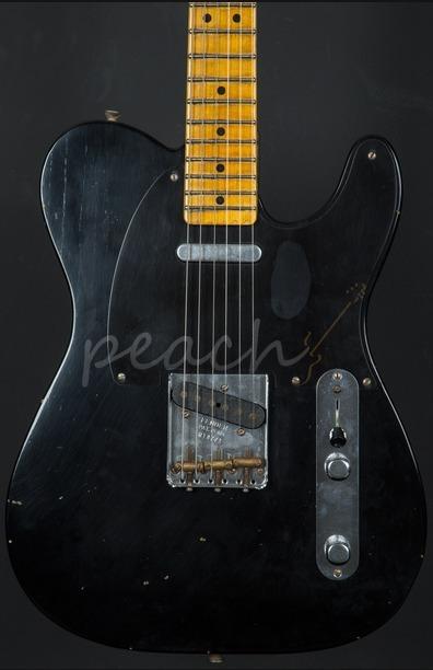 Fender Custom Shop 20th Anniversary Relic Nocaster Aged Black