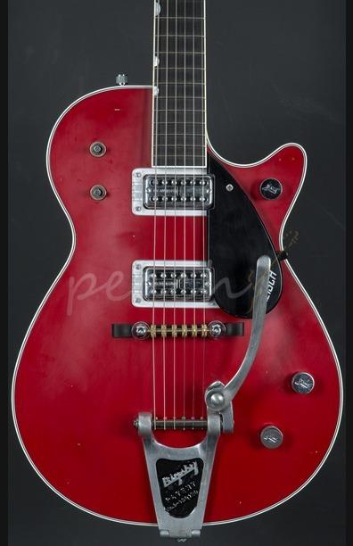 Gretsch Masterbuilt '59 Duo Jet Relic Firebird Red