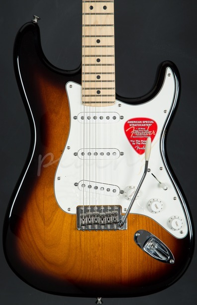 Fender American Special Strat Maple Neck 2 tone sunburst