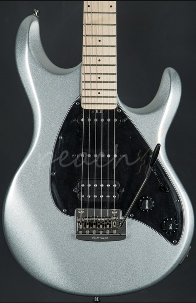 Music Man Silhouette Special HSS Trem Maple Neck Sterling Silver Blk PG