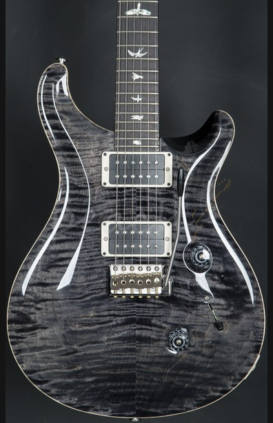 PRS Custom 24 Grey Black Pattern Regular 2016