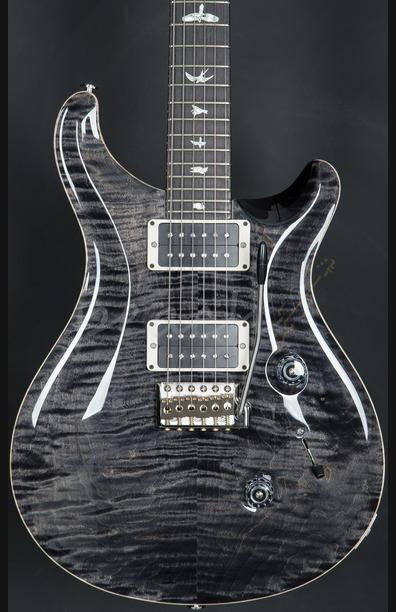 PRS Custom 24 Grey Black Pattern Regular 2016