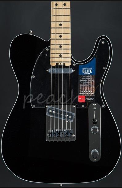 Fender American Elite Telecaster MN - Mystic Black