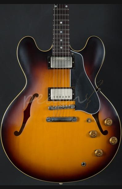 Gibson 1958 ES-335 VOS in 58 Burst 2016