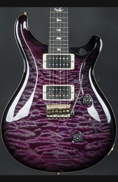 PRS Wood Library Custom 24 Quilt Violet Smokeburst