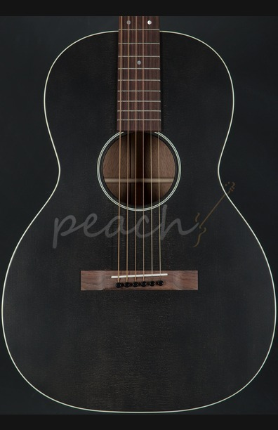 Martin 00-17S - Black Smoke Acoustic Guitar
