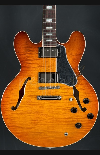 Gibson 2016 ES-335 Premiere Figured Faded Lightburst