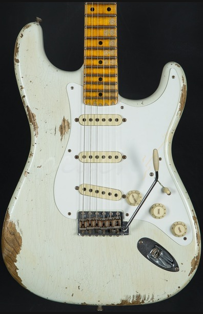 Fender Custom Shop Limited Edition '56 Relic Strat - Faded Desert Tan