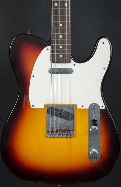 Fender Custom Shop '59 Journeyman Relic Tele - Sunburst