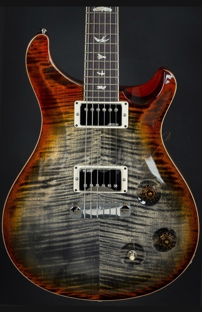 PRS McCarty Burnt Maple Leaf