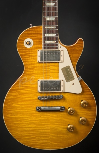 Gibson Custom Standard Historic 1959 Les Paul VOS Lemonburst R960124