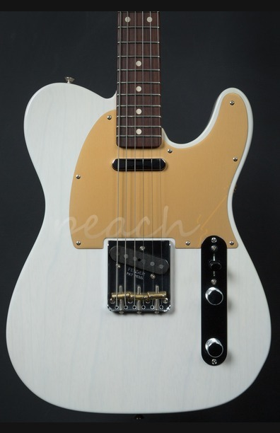 Fender Custom Shop '59 Tele Dealer Select model White Blonde Used