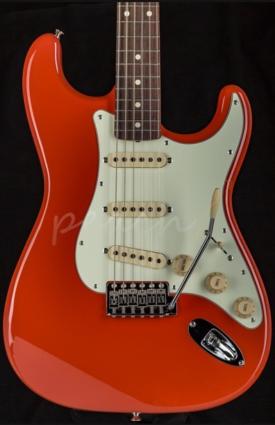 Fender FSR Japan Classic '60 Strat Fiesta Red