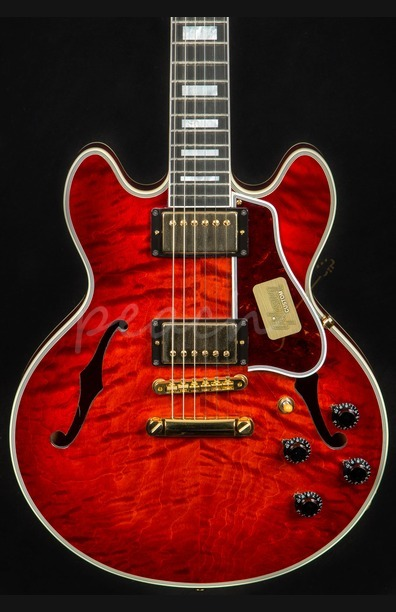 Gibson Custom Shop CS-356 Firemist 3A Quilt Hand-Picked