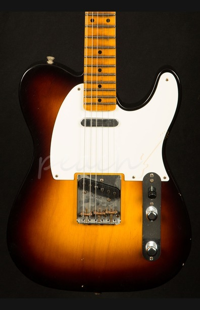 Fender Custom Shop '55 Journeyman Tele Wide Fade 2 Tone Sunburst
