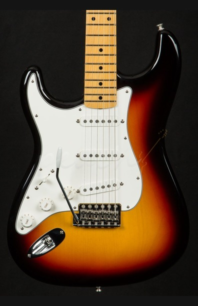 Fender Custom Shop '59 Strat NOS 3 Tone Sunburst Left Handed