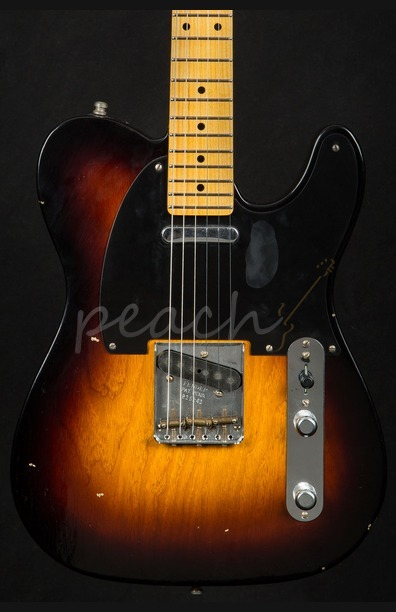 Fender Custom Shop '52 Telecaster Modern Journeyman Faded 2TSB
