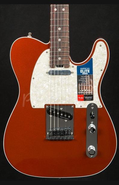 Fender American Elite Telecaster RW - Autumn Blaze Metallic