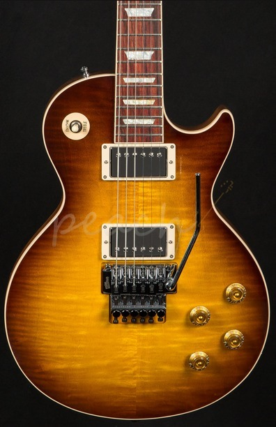 Gibson Alex Lifeson Les Paul Axcess Electric Guitar Viceroy Brown