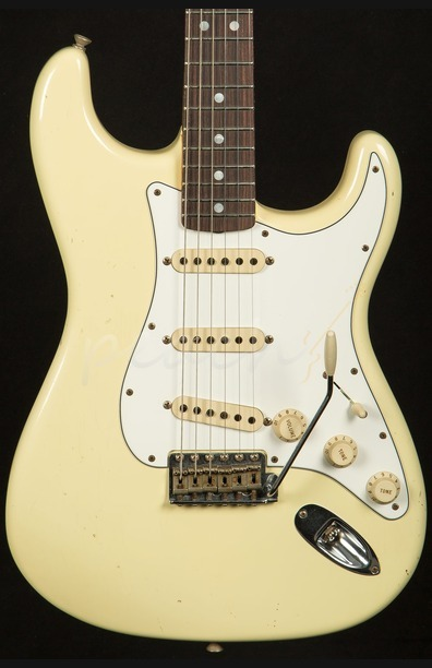 Fender Custom Shop 69 Strat Journeyman Relic Vintage White RW