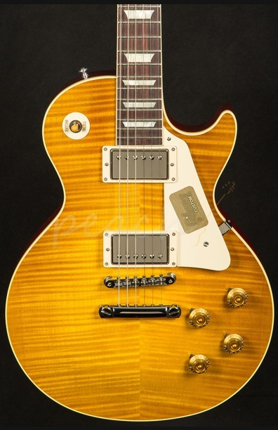 Gibson Custom Standard Historic 1959 Les Paul Lemonburst Gloss