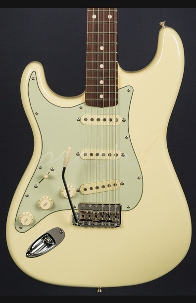 Fender Custom Shop '59 Strat NOS Vintage White - Left Handed