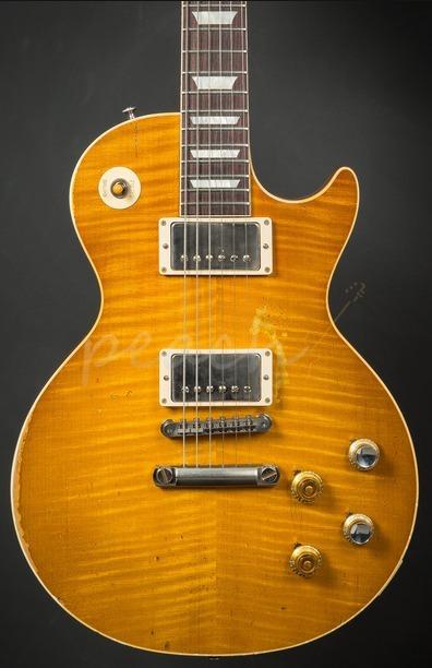 Gibson Custom Peach Commemorative 59 Les Paul Murphy Aged
