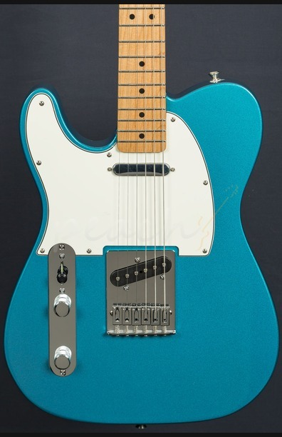 Fender Telecaster Lake Placid Blue Left Handed