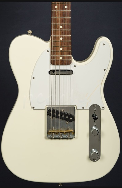 Fender Classic Player Tele Rosewood White Used