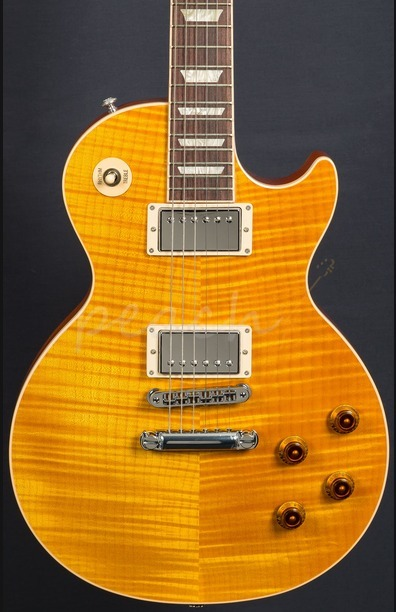 Gibson USA 2016 Les Paul Standard - Translucent Amber