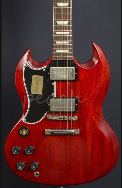 Gibson Custom SG Standard Reissue VOS Left Handed - Faded Cherry