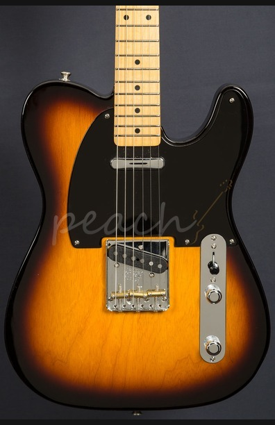 Fender Custom Shop '52 Telecaster NOS 2 Tone Sunburst