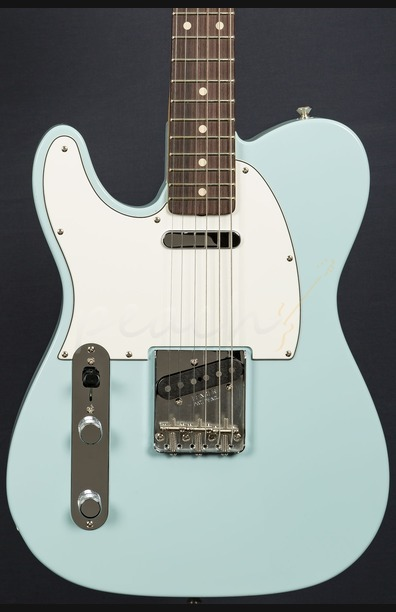 Fender Custom Shop '59 Tele NOS Sonic Blue - Left Handed