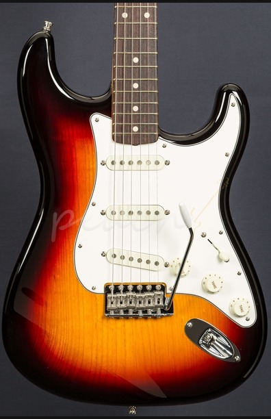 Fender Custom Shop Postmodern NOS Strat RW 3 Tone Sunburst