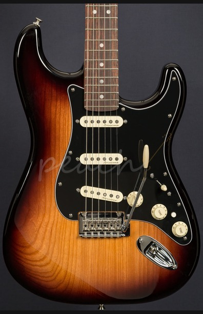 Fender Deluxe Strat Rosewood 2 Tone Sunburst