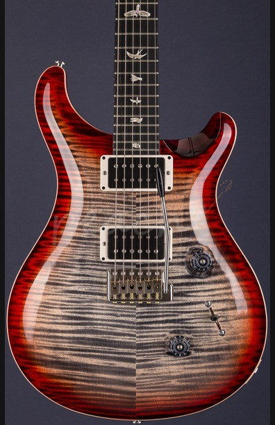 PRS Custom 24 Experience Ltd Charcoal Cherry Ebony Fretboard