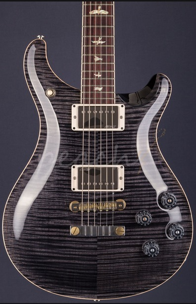 PRS McCarty 594 Grey Black 10 Top