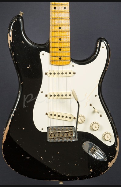 Fender Custom Shop Masterbuilt Todd Krause '57 Relic Strat Black Used