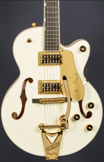 Gretsch G6112TCB LTD White Falcon Junior