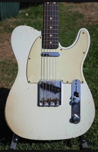 Fender Custom Shop 61 Tele Relic Sonic Blue John Cruz Masterbuilt