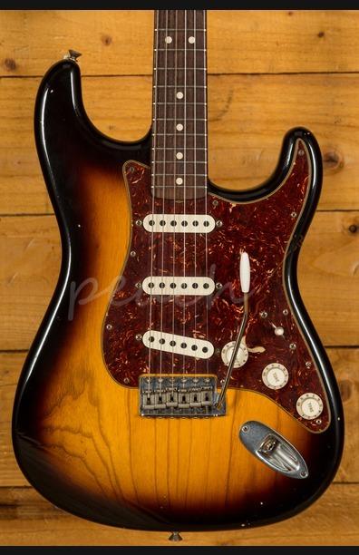 Fender Custom Shop 62 Strat Relic Sunburst Used