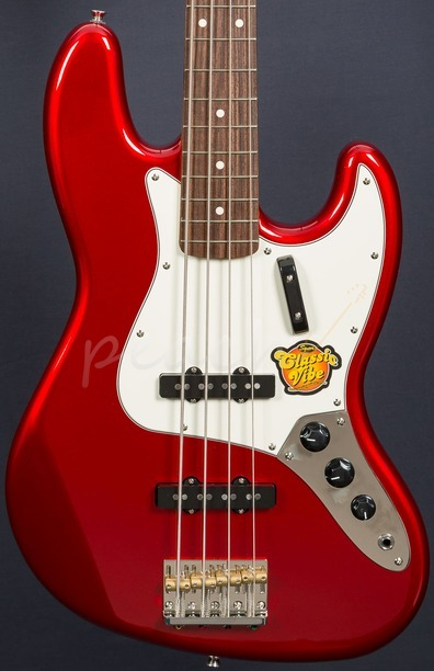 Squier FSR Classic Vibe 60's Jazz Bass Candy Apple Red