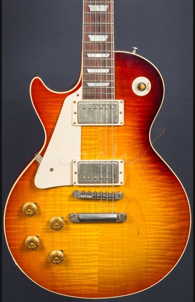 Gibson Custom M2M 58 Les Paul Left Handed Kentucky Bourbon Fade VOS