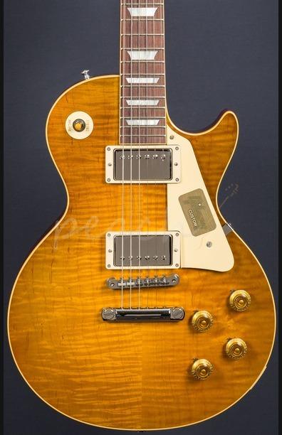 Gibson Custom True Historic 1959 Les Paul Reissue - Vintage Lemon Burst